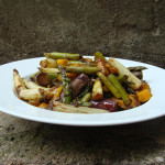 Almost Raw Asparagus Mango Salad Recipe
