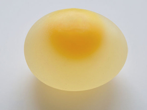 raw egg shelled