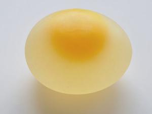 raw egg shelled