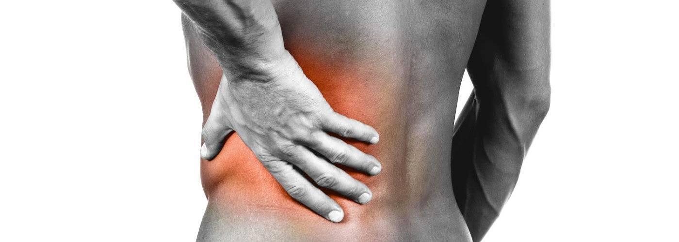 sore back